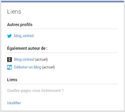 google authorship lien avec google+ etape 1