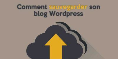 sauvegarder son blog wordpress