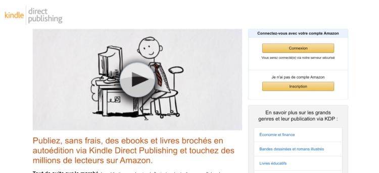 publier un ebook sur Amazon