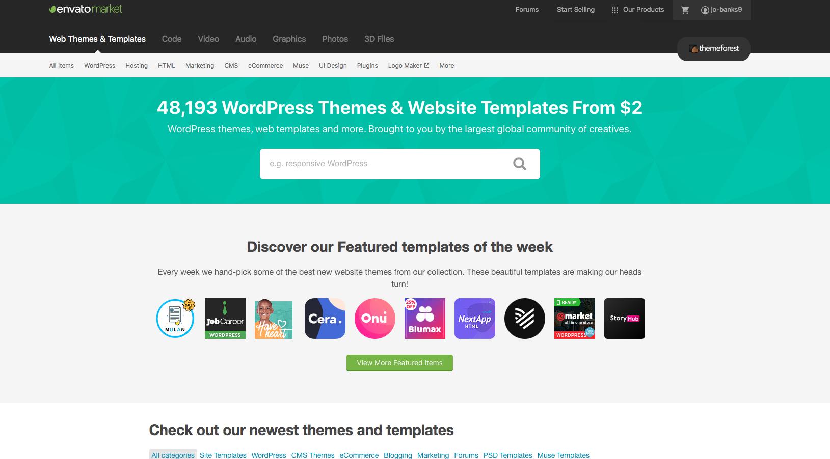 Themeforest: avis sur la marketplace de thèmes et de plugins WordPress