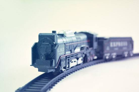 Toy train Jeshu John