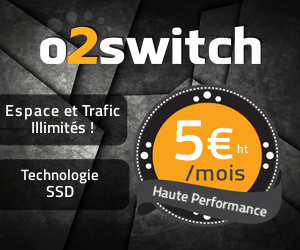hebergement o2switch